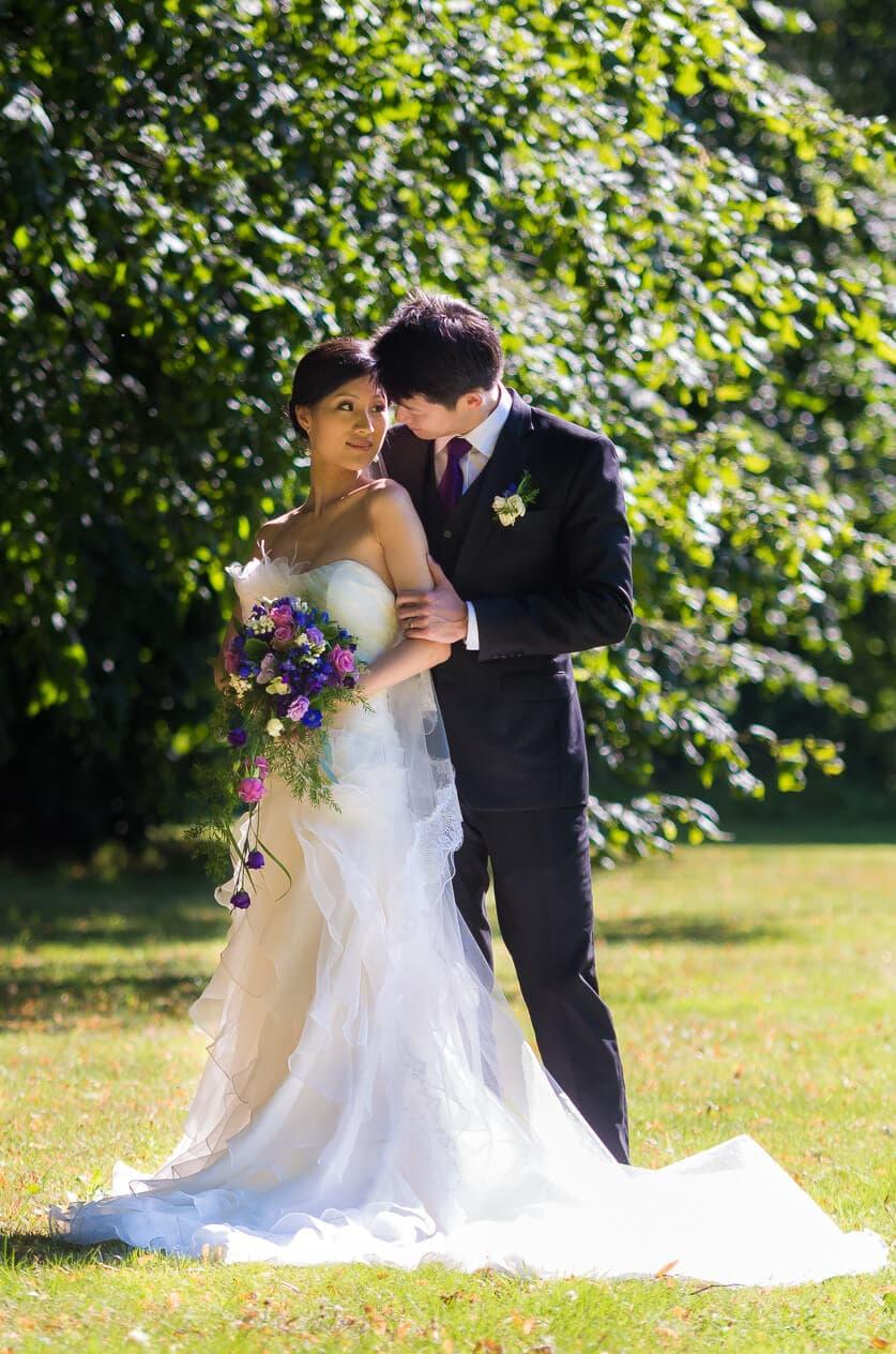 Aug, 2012: Ude i det gode vejr med Meilan og Renke, hvis bryllup stadig er blandt mine favoritter.