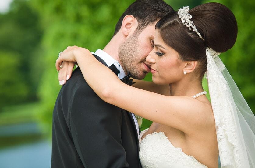 Maj, 2014: I Frederiksberg Slotshave i selskab med Fatos og Murat - det første tyrkiske par, hvis bryllup jeg har dækket.