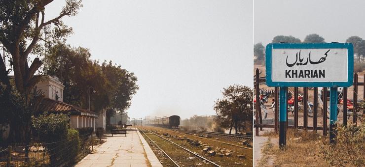 Kharian togstation, som er meget tæt ved vores hjem. Den benyttes dog ikke. Sidst jeg så et tog standse her, var dengang jeg var 6 år gammel.